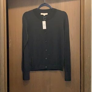 New LOFT basic black cardigan